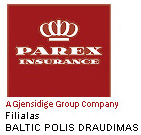Parex Insurance filialas Baltic Polis draudimas